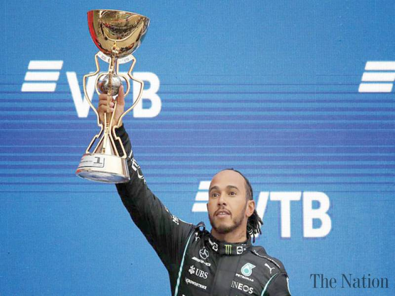 Hamilton goes back on top with his 100th F1 win