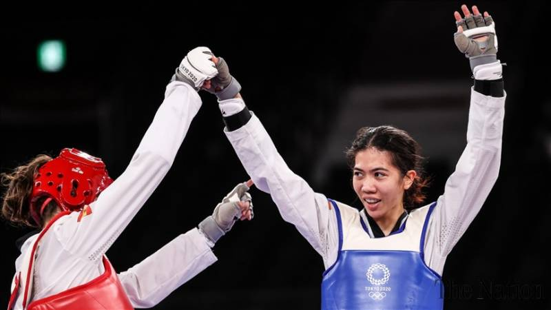 Thailand's Panipak Wongpattanakit wins Olympic gold in taekwondo