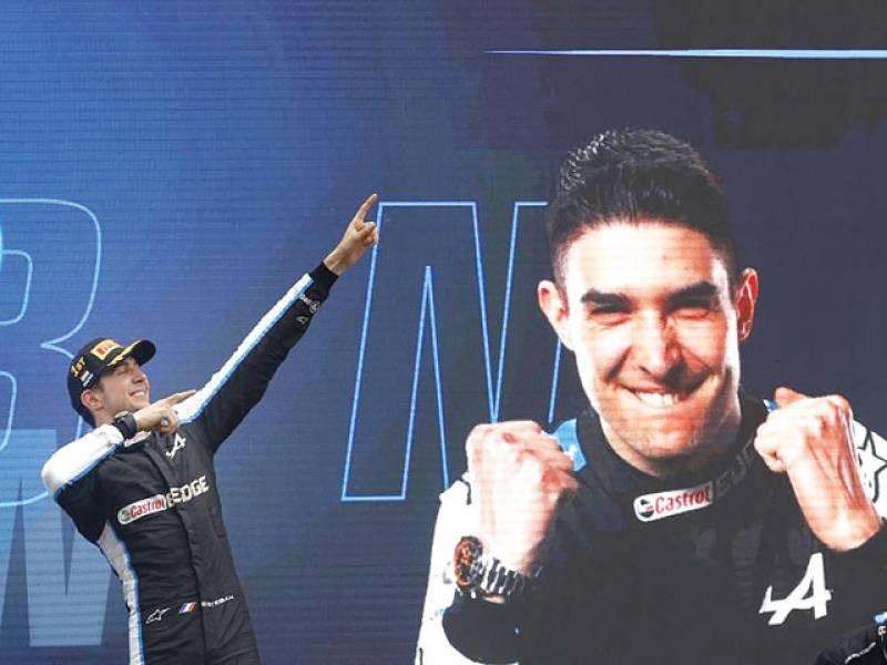 Ocon wins chaotic Hungarian GP, Hamilton takes F1 lead