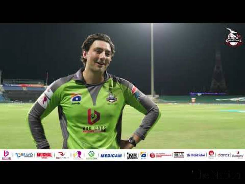 Lahore Qalandars' all-rounder Tim David feels fantastic to be a part of PSL