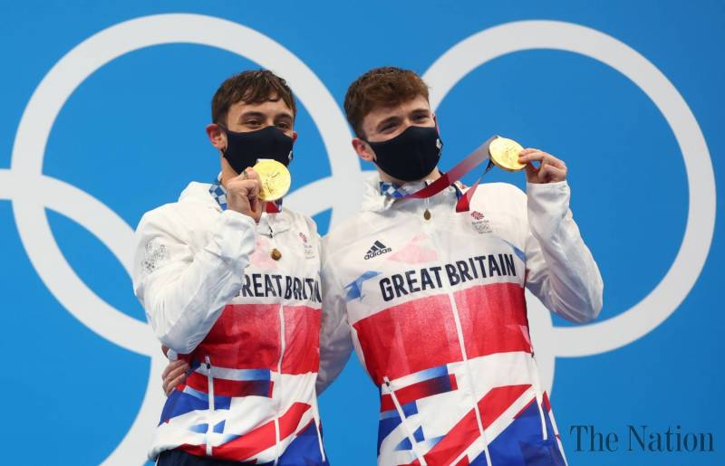 Great Britain bag Olympic gold in men's synchronized diving