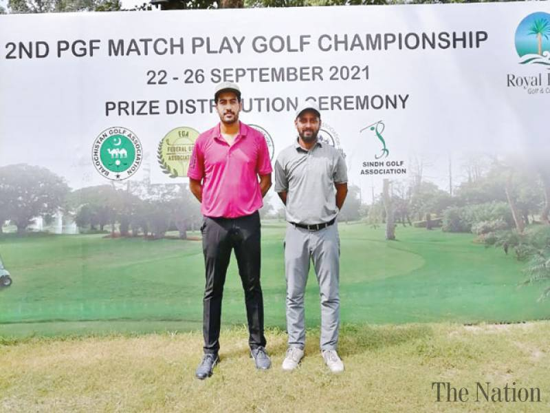 Artful Hussain faces forceful Salman in 2nd PGF Match Play Golf final