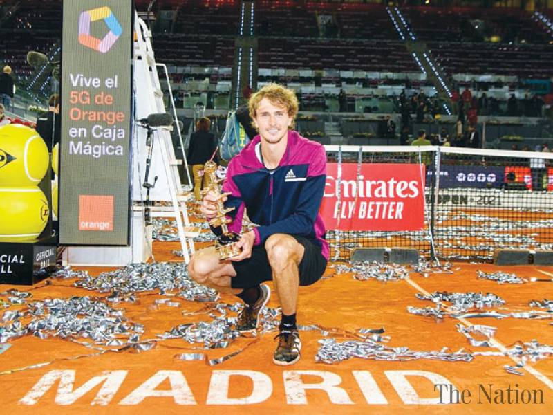 Zverev downs Berrettini to clinch second Madrid crown