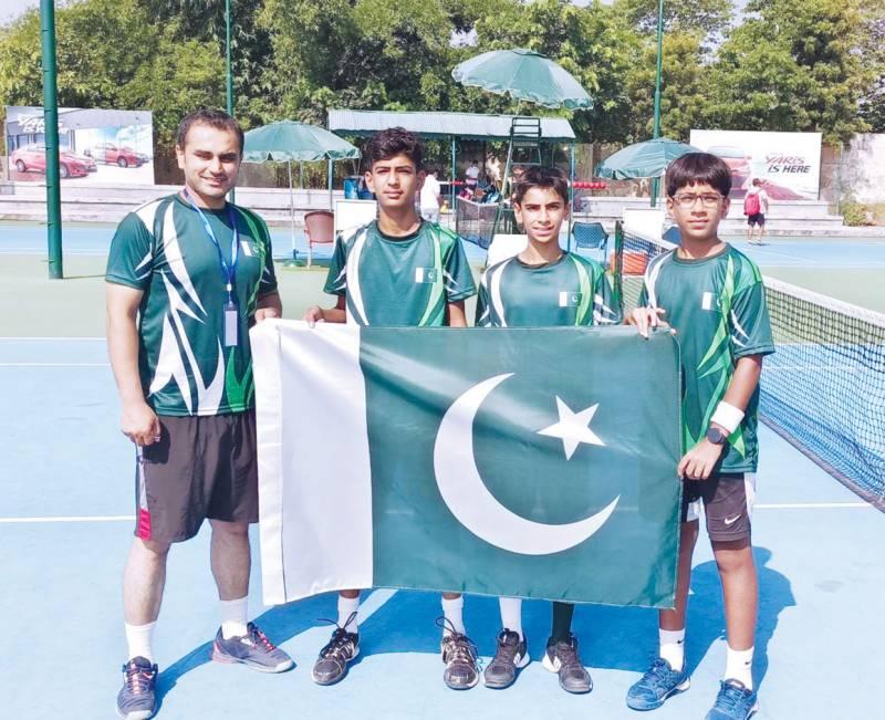 Pakistani boys breeze into ITF Asia 12