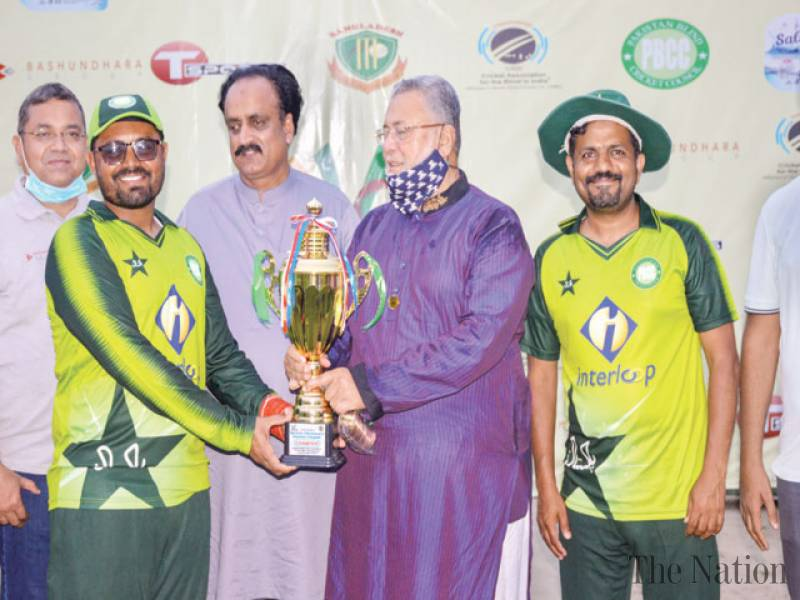 Pakistan rout India to win Triangular Blind Cricket Series