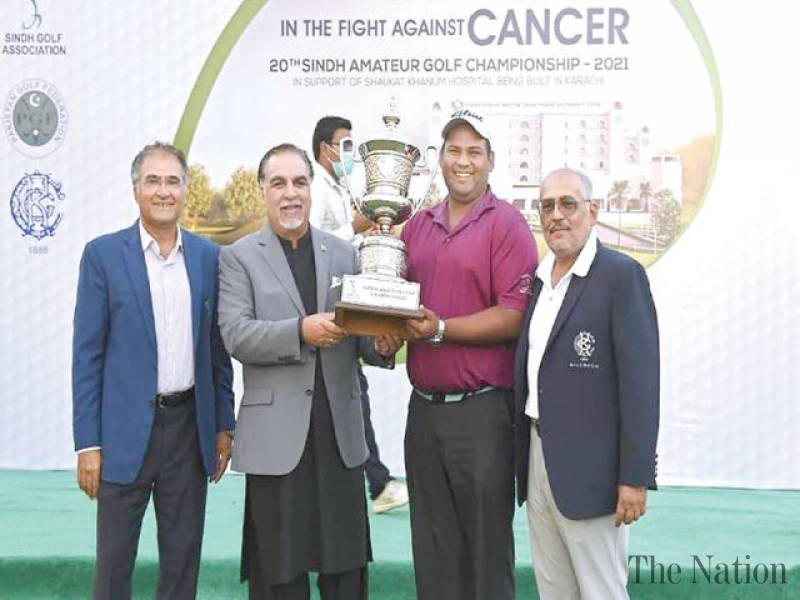 Saim secures Sind Amateur Golf title