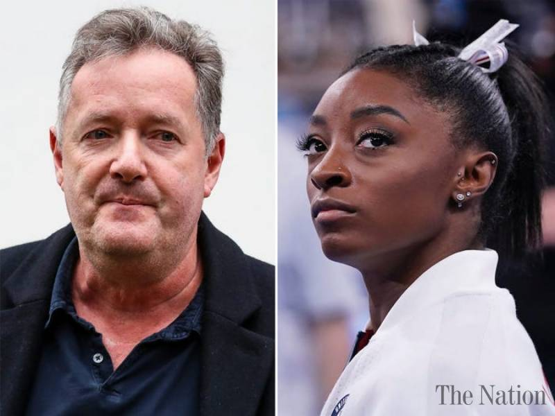 Piers Morgan calls US gymnast Simone Biles selfish over Olympic event pullout