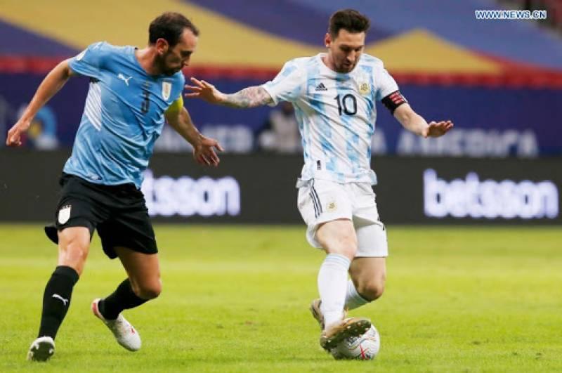 Copa America: Rodriguez fires Argentina to win over Uruguay