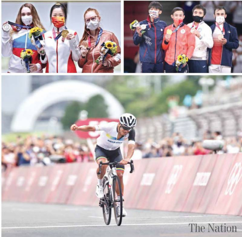 Glittering gold distracts from Tokyo woes