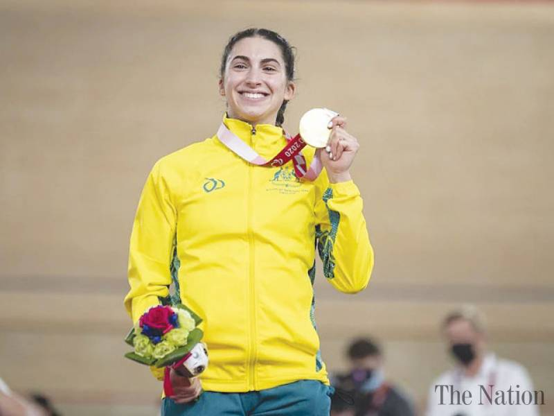 Australia's Greco grabs first gold at Tokyo Paralympics