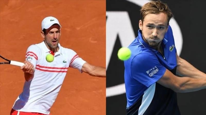 Djokovic vs. Medvedev in US Open men's final