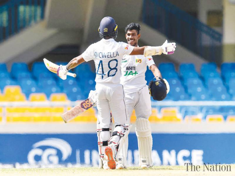 Nissanka ton helps Sri Lanka set stiff target for Windies