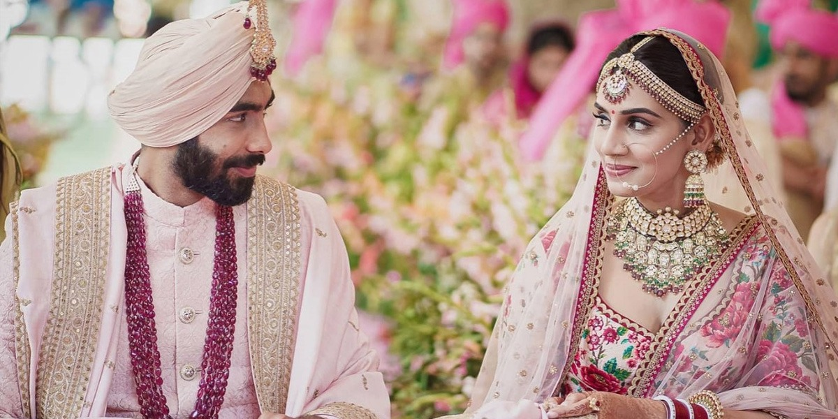 Indian Cricketer Jasprit Bumrah Ties Knot With Former Miss India