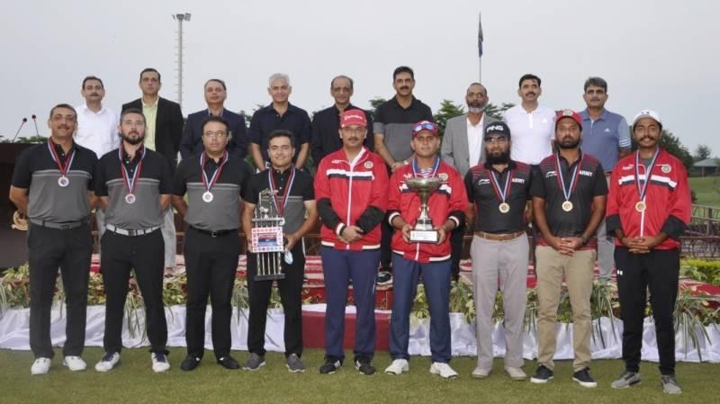 PAF wins Inter Services golf championship 2021