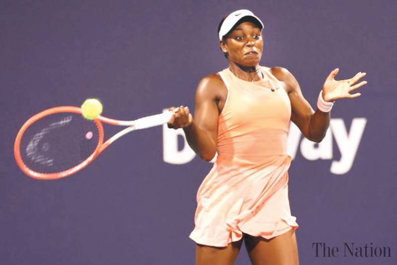 Sloane Stephens upsets Madison Keys in Charleston