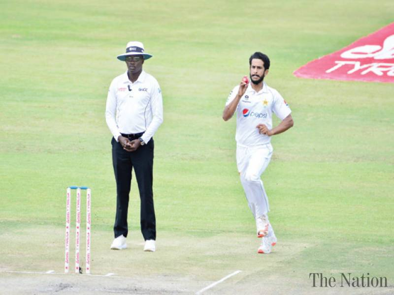 Hasan, Fawad help Pakistan take 1-0 lead over Zimbabwe
