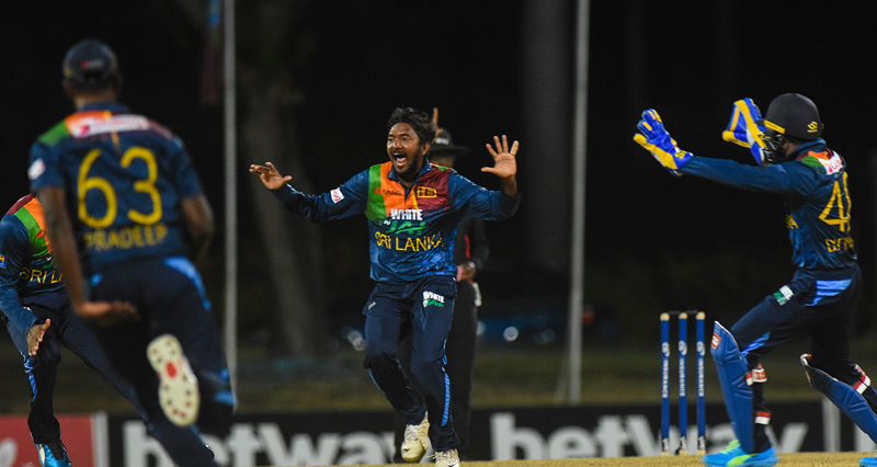 Kieron Pollard hits 6 sixes in an over as WI beat Sri Lanka
