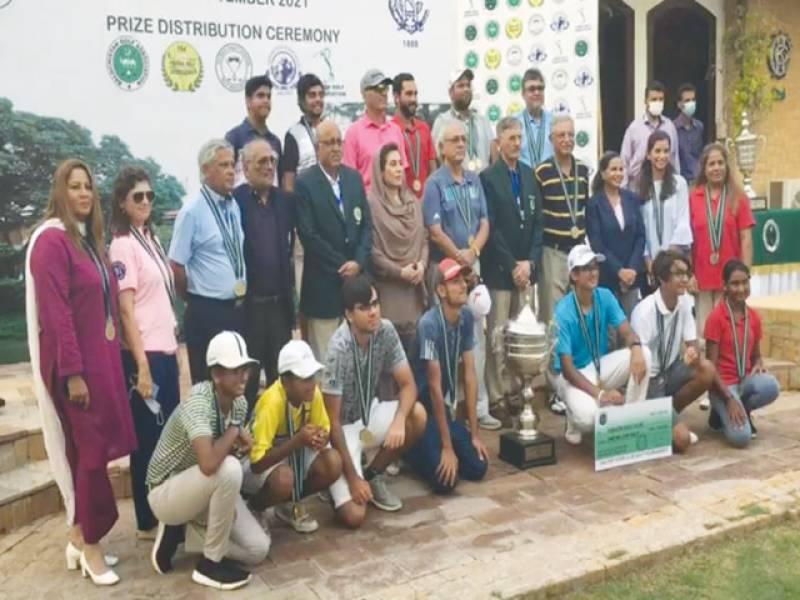 Karachi team crowned PGF Inter-Club Golf champion