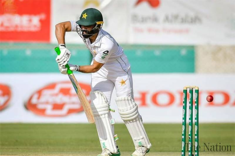 Fawad Alam stands firm in first test against SA