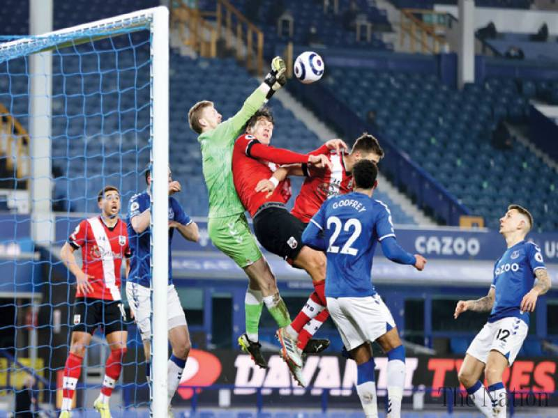 Everton beat Southampton 1-0 to be on verge of EPL top four
