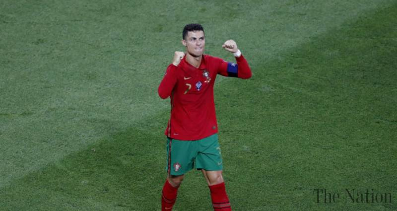 Cristiano Ronaldo 'attacked' with Coca-Cola bottle during match with France