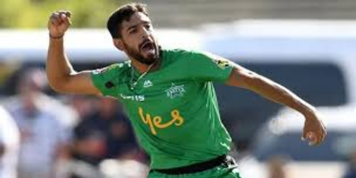 Fast Bowler Harris Rauf won the big title of his career