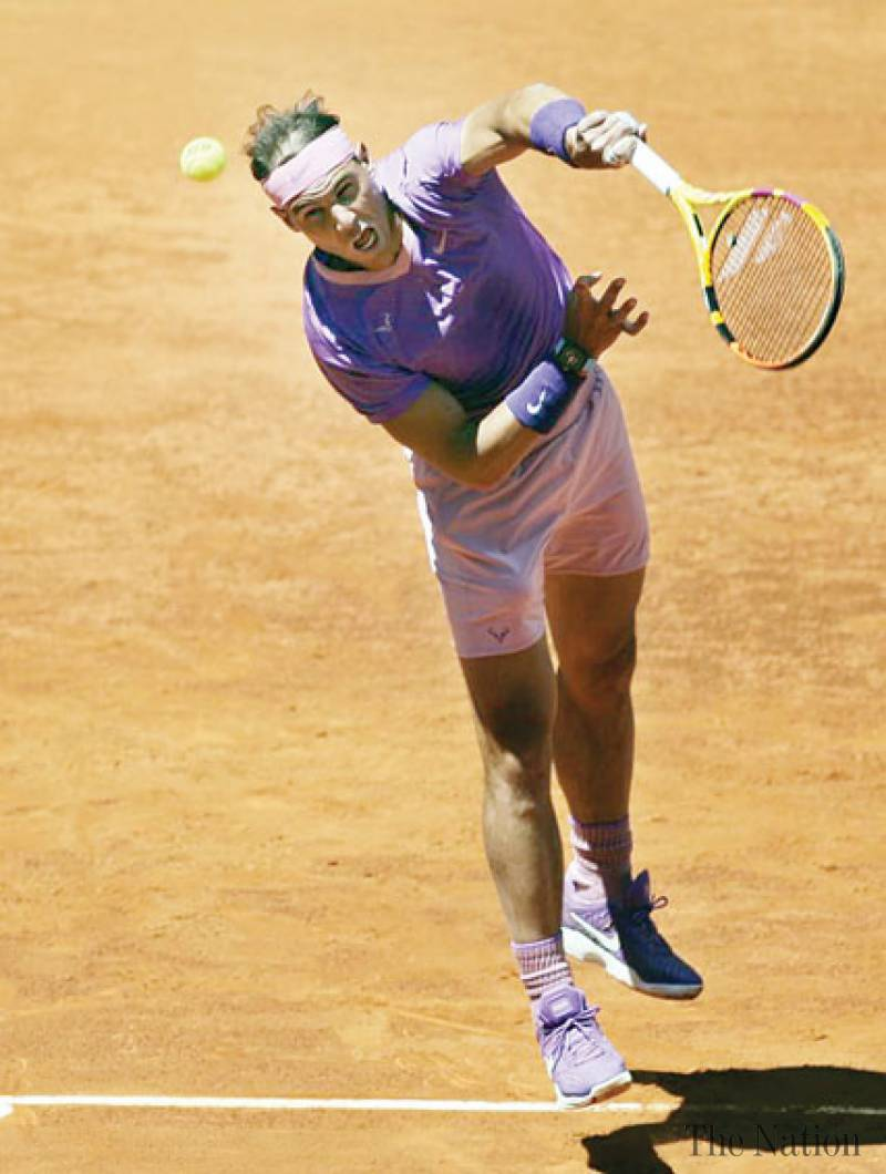 Nadal reaches quarters, Barty into final