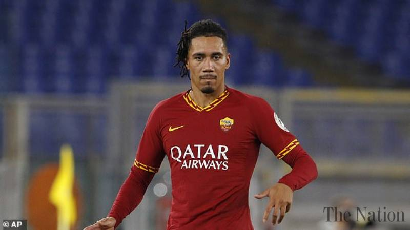 Roma defender Smalling gets robbed at home