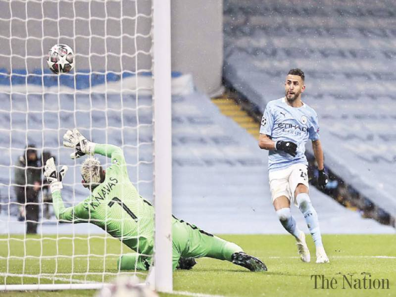 Mahrez double fires Man City into Champions League final