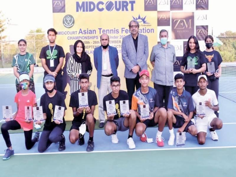 Haider Ali lifts Midcourt ATF C'ships 14