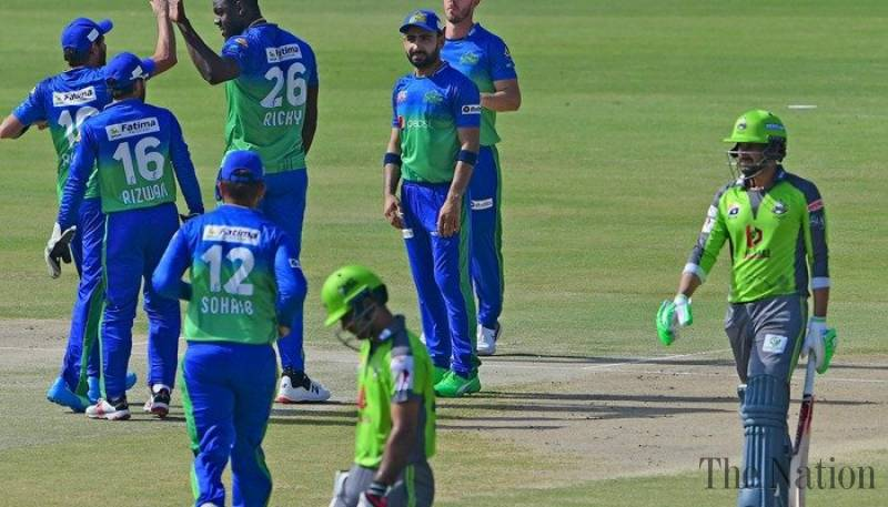 Multan Sultans beat Lahore Qalandars by 7 wickets to open account in PSL 2021